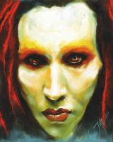MARILYN MANSON by JALpix