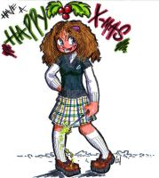 Happy X-mas from Hermione by holijay