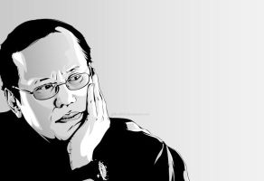 noynoy aquino by gilbert86II