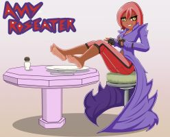 Amy Roseater - Feet on a plate by hofit-mil