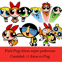 Pack Png Chicas super poderosas by Upinflames12
