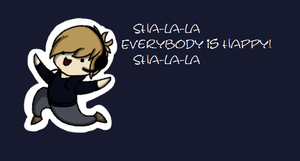 Pewdie is happy by Gloomy-Butt