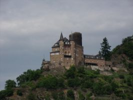 A castle somewhere in Germany by BMFMhero1991
