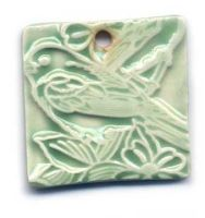 Sparrow Ceramic pendant by ChinookDesigns