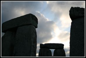 Summer Solstice at Stonehenge VII by DarkestFear