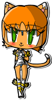 Lovely Chibi Cybil Starr by Crystal-Moore