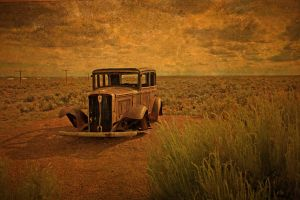 Ghost of Route 66 by AngelsOdyssey