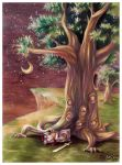 Sleeping under the eye tree by SheCow