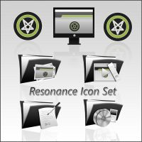 Resonance Icon Set by Luk3V