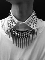 spikes and pearls by GodsGirl33