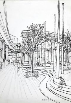 (Live Sketch) Sunway, Outdoors by Reasmis