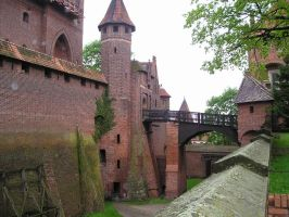 Castle in Malbork, Poland by camil1986