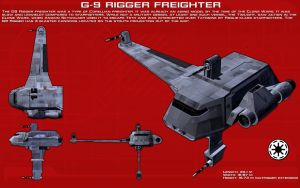 G9 Rigger freighter ortho [New] by unusualsuspex