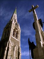 Statue and Spire by RealmKnight