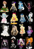 OTA 100 theme challenge selfy adopts #2 (2 open) by i-am-a-fangirl