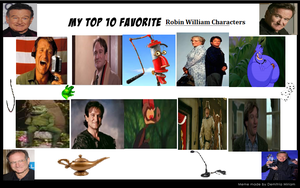 My Top 10 Favorite Robin Williams Characters by SmoothCriminalGirl16