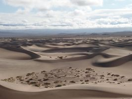 Mesquite Flat Sand Dunes by Sparradile