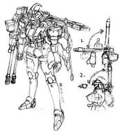 Tallgeese Femme by EchoWing