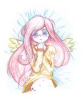Little Fluttershy by LuckyEd