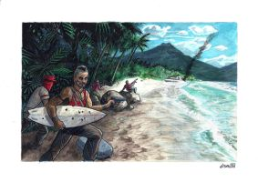 Vaas and The island by didism