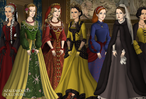 Houses of Westeros by Harlequin67Bee