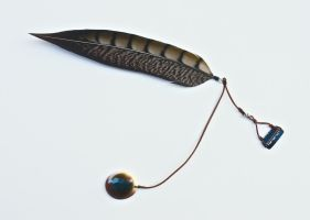 Spirit of the chrysolophus amherstiae (Hair clip) by JOCAPS