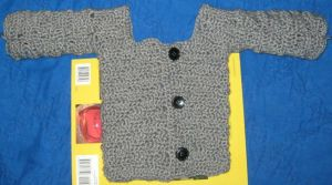 Gray Baby Waves Sweater - WIP by DiamondLeaf