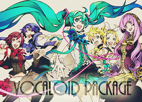 Vocaloid Package by IrinaFestner94