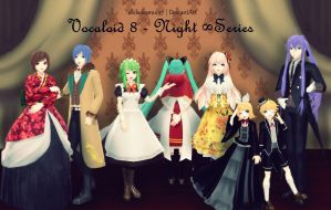 Vocaloid 8 - Night Series + DL Links by AkikoKamui97