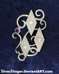 Rarity's Brooch by SilverSlinger