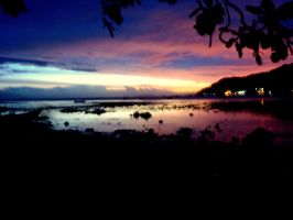 our unoriginal island sunset by midwinters