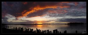 Sunset On The Bay by TreeClimber