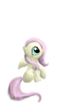 Baby FlutterShy not done by ButtonsTheCatt