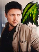 Winged Karl Urban by TacoDestroyerAvenger