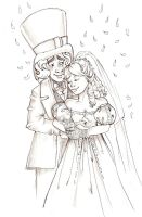 Hatter and Alice- Wedding by snoprincess