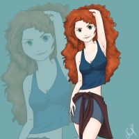 modern Merida by BeetleSweet