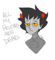 quick karkat for you all by boywiththecurls