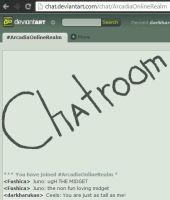 New feature! Arcadia has a chatroom! by darkharukan