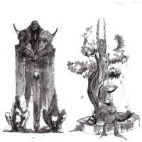Guild Wars ink Wash by o0Tron0o