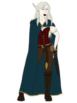 Lady Evelyn (WIP) by Sithis666