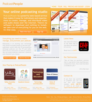 Podcast Layout by sunlessdesign