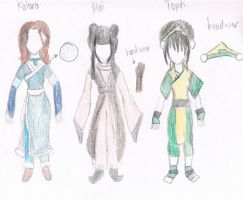 Avatar Cosplay Clothes by Gomamon4life