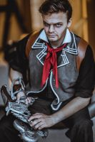 BioShock Infinite Booker DeWitt Cosplay by Egusi