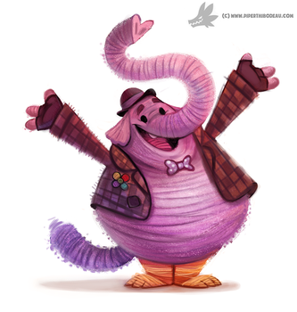 Daily Painting #943. #InsideOut (FA) by Cryptid-Creations