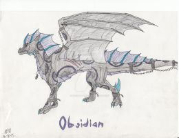 Obsidian by queenfirelily17