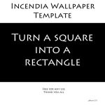 Incendia Wallpaper Template by ghazoot