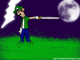 Luigi will save you by Names-Tailz