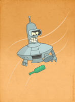 Spaceship Bender by TheFightingMongooses