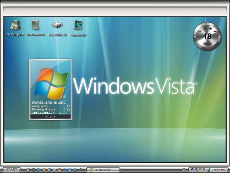 Vista Desktop by Jetsetter