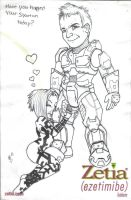 Spartan love by InfectedHal0